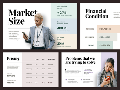 #Exploration - Pitch Deck - Pastel Colors pitch deck pitchdeck design presentation template layout ui website typography bold data chart keynote powerpoint whitespace clean photography portrait branding