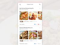 #Exploration | Food App