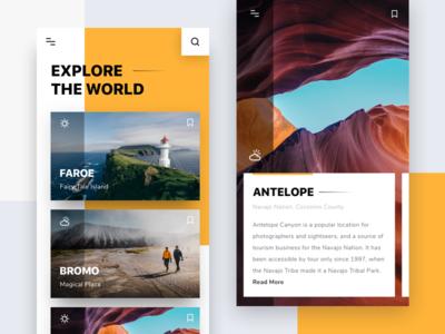 #Exploration | Explore The World App