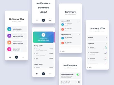 #Exploration - Light version Money Management App