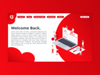 Landing Page [Red]