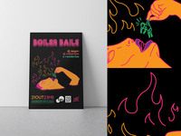 Boiler Baile - Funk Party Poster