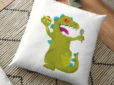 Reptar / Floor Pillow