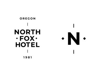 North Fox Hotel Identity Template