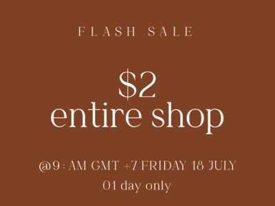 Massive flash sale $2