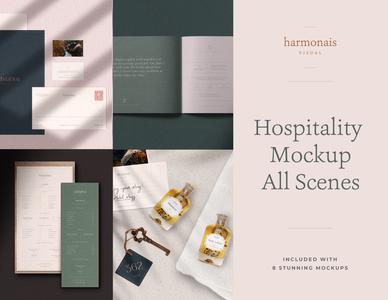 Hospitality Mockup All Scenes