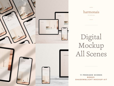 Digital Mockup All Scenes