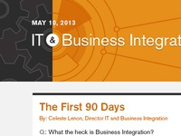 IT & Business Integration Email