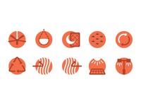 Sustainable Design Strategies Icons