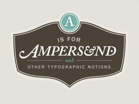 A Is For Ampersand Redux v3