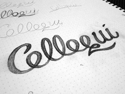 Colloqui Lettering lettering italian script handwriting