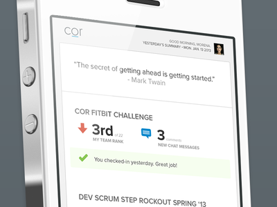Cor - Daily Challenge Update