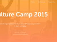 Culture Camp 2015