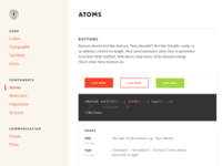 Territory Foods: component library