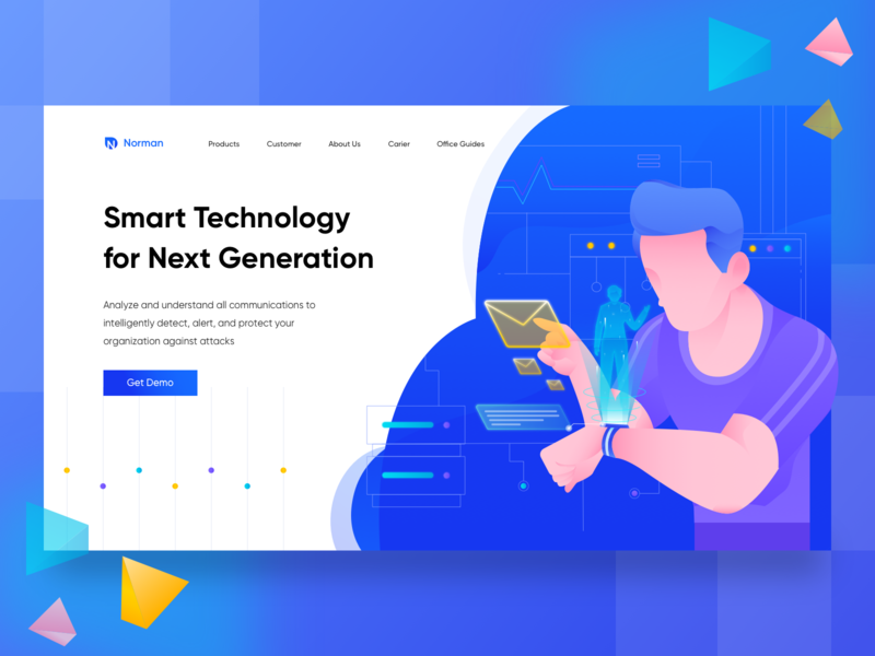 Smart Technology for Next Generation Landing Page