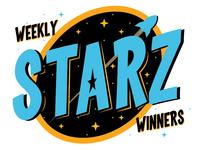 Starz Winners