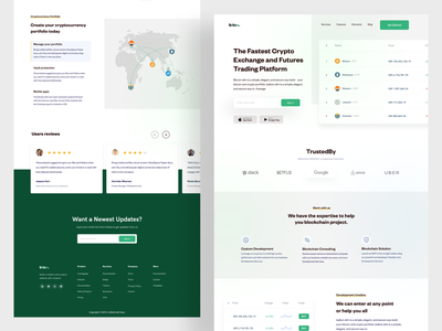 Finances bitcoin home page colorful minimalist product websites ux typogaphy color ui  ux bitcoin services bitcoin website branding website design finance product design minimal landing page payment homepage ui