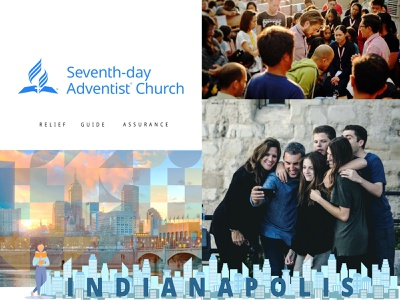 Seventh Day Adventist Evangelism Prototype affinity serif branding design digital campaign style guide roze drew indianapolis assurance guide relief art direction marketing design branding seventh day adventist marketing campaign stylescape