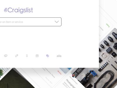 Craigslist Simplified Design