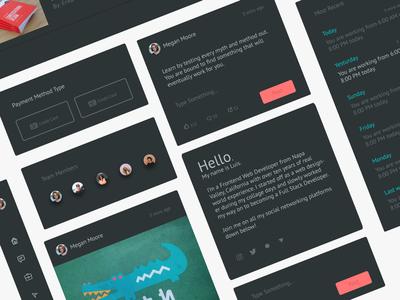 Dark UI App Theme