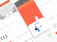 Schedule UI Design