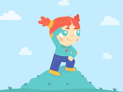 Woman day's girlpower childrens illustration children vectors illustration art digitalart design vector illustrator illustration