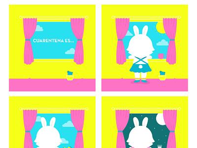 QUARANTINE IS... childrens illustration illustration art digitalart vector illustrator illustration
