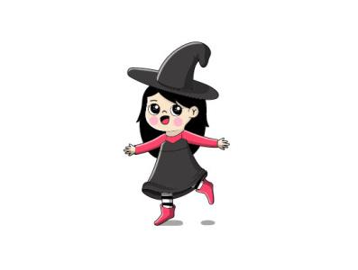 BRUJITA girlpower children childrens illustration vectors illustration art digitalart vector illustrator illustration