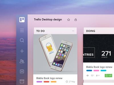 Trello For Desktop (Concept WIP)