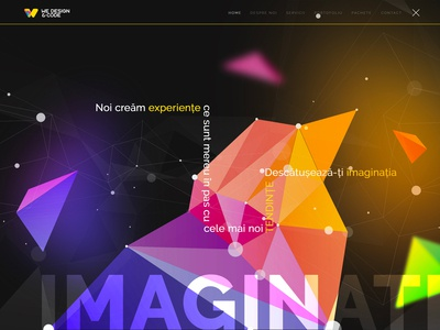 We Design & Code - Imagination Page