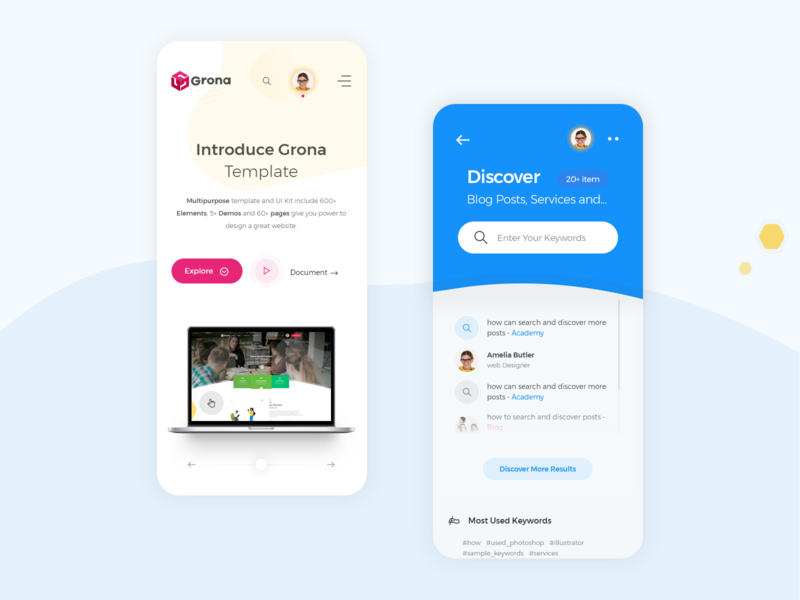 Mobile Advanced Search responsive mobile version app dropdown searching creative bootstrap template bootstrap 4 template product design design mobile mobile ui uiux ui search design search dropdown search results search bar search