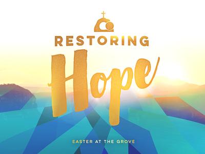 """Easter """"Restoring Hope"""" Final Look"""