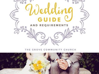 Wedding Guide Cover Design