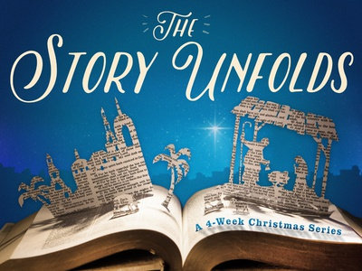 The Story Unfolds - Christmas Graphic