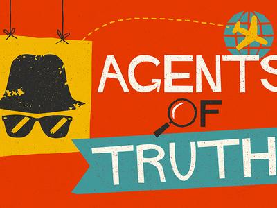 """Agents of Truth"" Design for Summer Kid's Program"