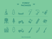 Forest Packages - Little icon sets