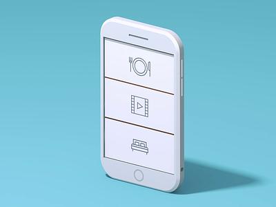 Family Phone 📱 characterdesign design character smarphone phone 3d c4d animation illustration