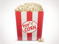 Popcorn box popcorn box icon set pack corn shapes icons bucket kit movie cinema movie theater photoshop freebies pixel free illustration popcorn