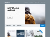 Author pro theme design