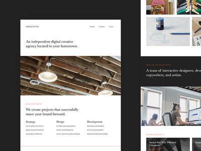 Workstation Pro Theme genesis framework wordpress layout website
