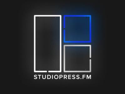 StudioPress FM genesis framework podcast sign neon