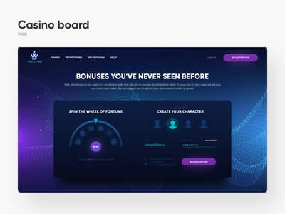 Casino Roulette service website web site application mobile mobile app app interaction ux ui interface design dashboard character fortune spin board roulette casino