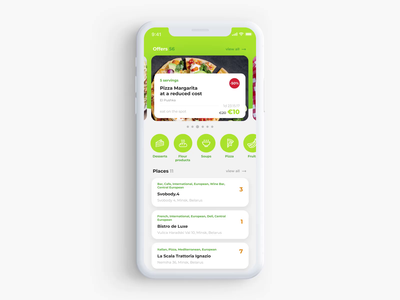Food Expert food bloger eating stuff eat food catalog animation application mobile mobile app app interaction ui ux interface design