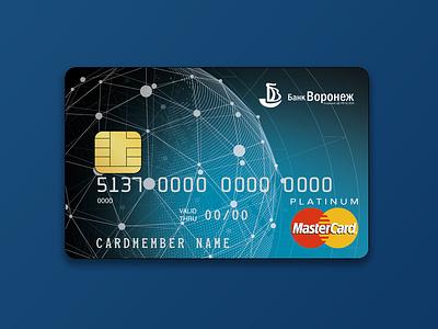 Bank card design bankcard points planet bank card design