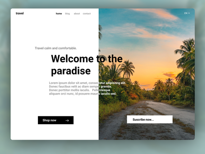 [Simple] Travel Design