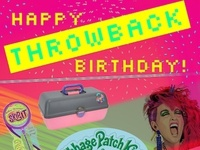 Just for Fun! Throwback Birthday Card