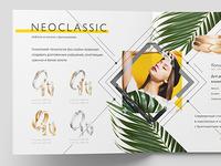 Layout of jewelry catalog