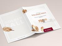 Alikor jewellery Golden Fall collection brochure