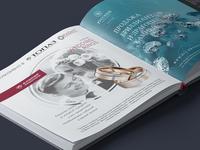 Advertising in jewellery magazine