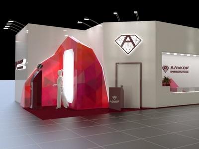 Alikor Exibition Stand Autumn 2018 exibition design
